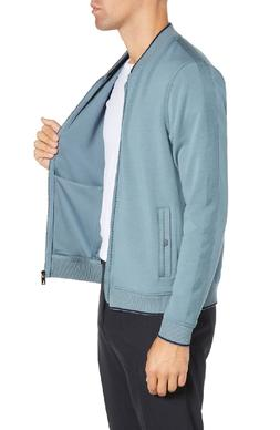 Ted Baker $199 TANGFAZ Mid Blue Bomber Jacket Size 2XL Ted S