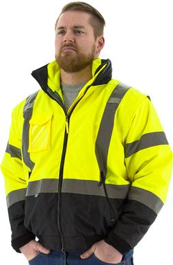 Majestic 75-1383 Transformer 8-in-1 Bomber Jacket, ANSI Clas
