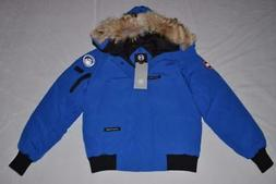 CANADA GOOSE MEN'S CHILLIWACK BOMBER JACKET ROYAL PBI BLUE