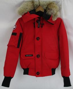 Canada Goose Women's Chilliwack Bomber Jacket 7999L Red Size