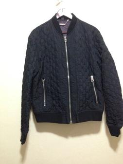 New JUST CAVALLI Bomber Jacket Rt $895 size 52 Made In ITALY