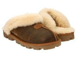 UGG Australia Bomber Jacket CHESTNUT Brown COQUETTE Slippers