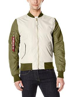 Alpha Industries Men's L-2b Dragonfly Blood Chit, Vintage Wh