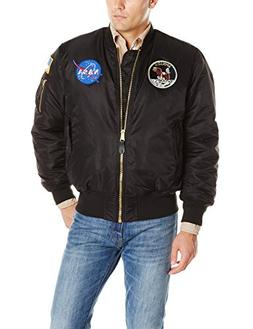 Men's Alpha Industries Apollo Ma-1 Flight Jacket, Size Small