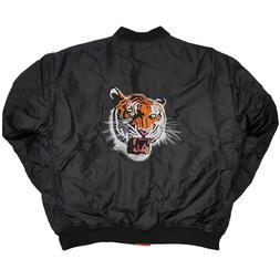 BEST SELLER Men's MA-1 High Fashion TIGER Embroidered Flight