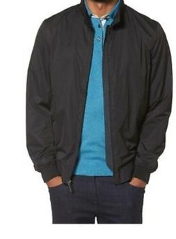 Ted Baker Black Nylon Bomber Jacket Size 6