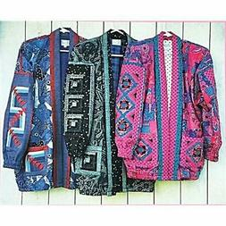 bomber jacket quilt pattern sewing quilting c2430