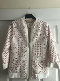 Ted Baker Bomber Jacket Size 0 Uk 6