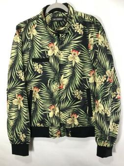 MEMBERS ONLY Bomber Tropical Pattern Jacket. New Without Tag