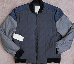 CALVIN KLEIN Jeans  Quilted Puffer Bomber Jacket Men's NWT$1
