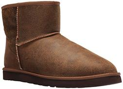 Men's Ugg Classic Mini Bomber Boot With Genuine Shearling Or