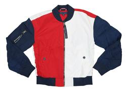 Tommy Hilfiger Colorblocked Full Zip Bomber Jacket X-Small N