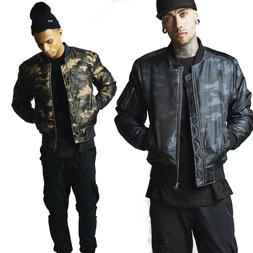 Urban Classics Basic Bomber Jacket Military Armed Forces Arm