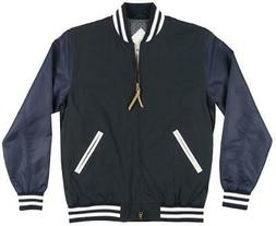 diamond supply co facet varsity jacket windbreaker