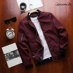 DIMUSI Spring New Men's Bomber Zipper Jacket Male Casual Str