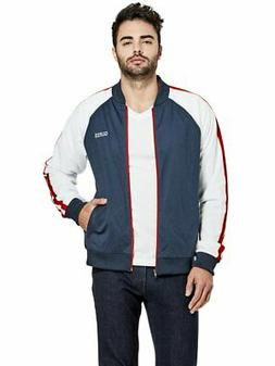 factory men s marcel mesh bomber jacket
