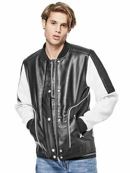 GUESS Factory Men's Tighe Bomber Jacket