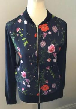 Ted Baker Hedgerow Knitted Bomber Jacket BNWTS SIZE 2 Uk 10