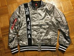 Alpha Industries bomber jacket, new with tags