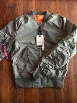 Alpha Industries L-2B Scout Reversible Bomber Jacket Stratos