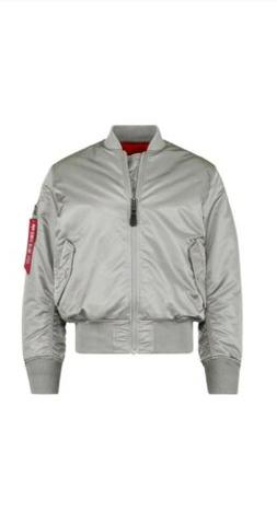 ALPHA INDUSTRIES MA-1 Blood Chit Flight Jacket Bomber Revers