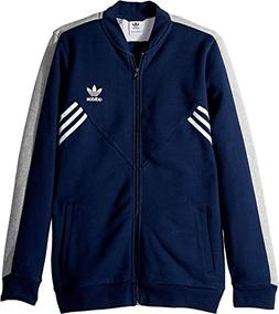 adidas Originals Kids Boy's Zigzag Track Jacket  Collegiate