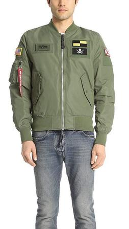 Alpha Industries L-2b Flex Bomber Flight Men's Jacket WJL470