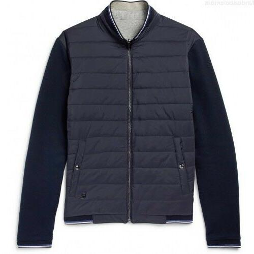 $995 Ralph Lauren Purple Label Mens Navy Quilted Jersey Reve