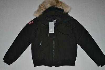 CANADA GOOSE MEN'S BORDEN  BOMBER JACKET BLACK  S SMALL  AUT