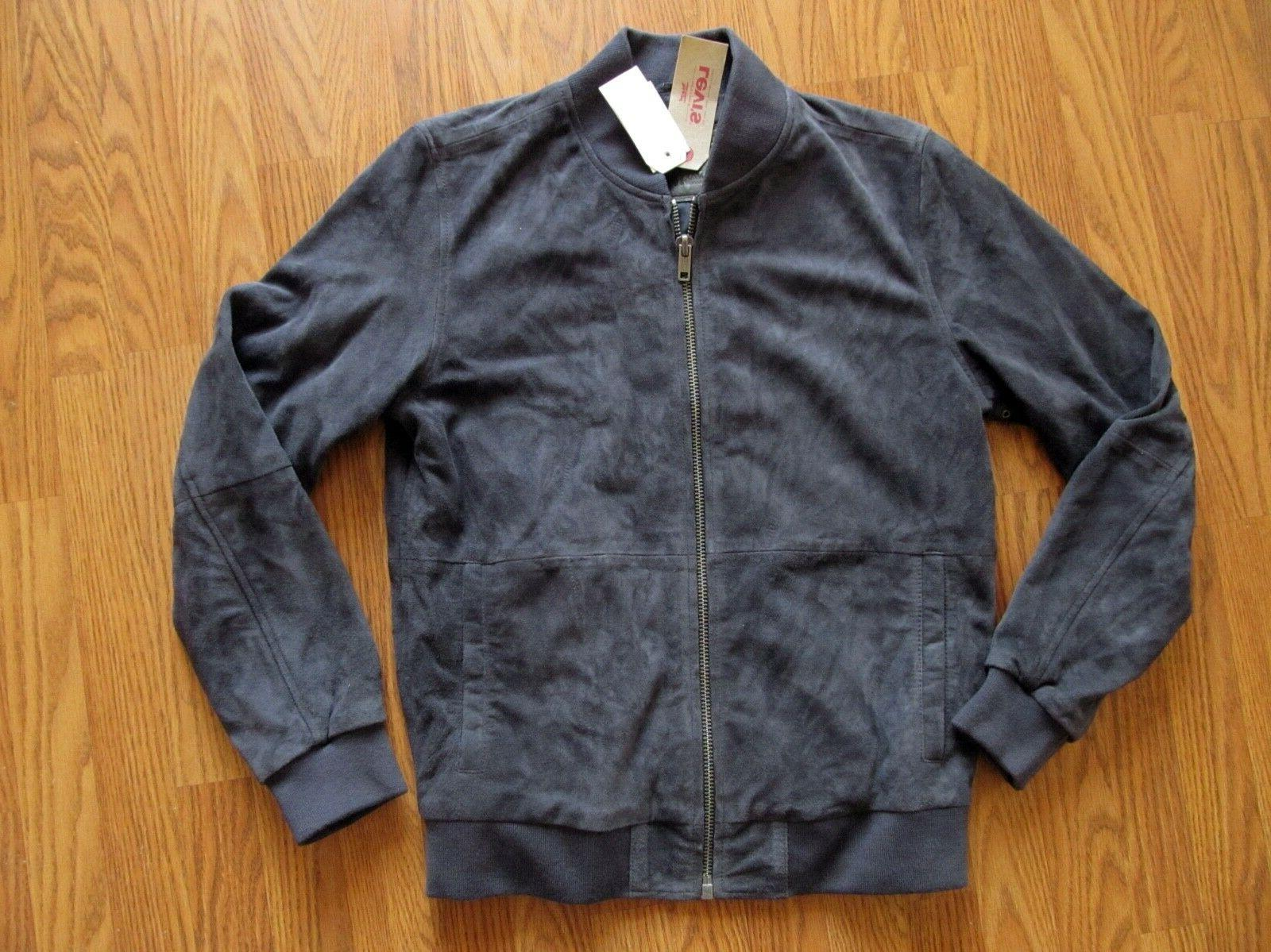Levi's | SUEDE BOMBER JACKET Men's size Small - navy $428