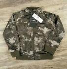 NWT Members Only Girls Jacket Lightweight Bomber Camo Pink F