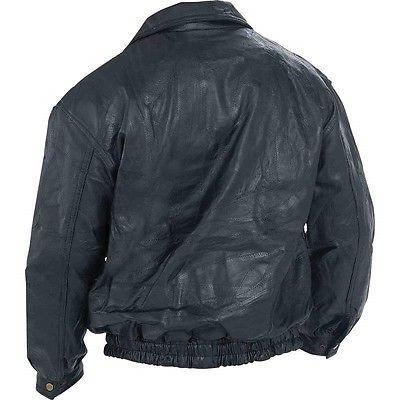 BOMBER JACKET Genuine Flight Motorcycle Lined