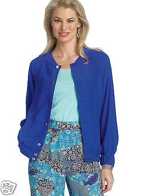 B6181 Misses' Sleeve Bomber Jacket Sizes 6-14 Butterick Sewing Pattern