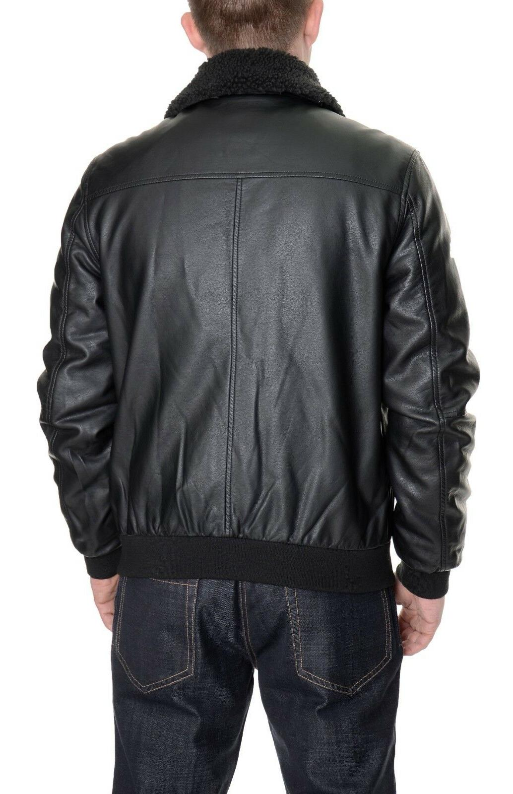 Kenneth Cole Black Removable Collar Size