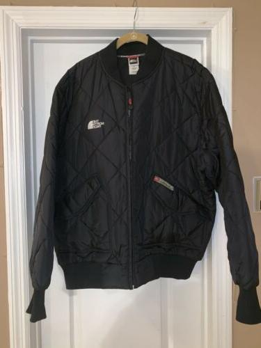 THE NORTH FACE BOMBER JACKET ...FLIGHT JACKET MENS LARGE
