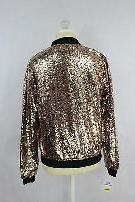 The By Seventeen Juniors Sequined Gold