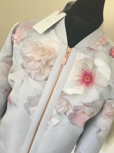 TED BAKER DAWNAR BOMBER JACKET BNWTS size 3