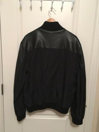 Kenneth Cole Reaction Black New Long Zip