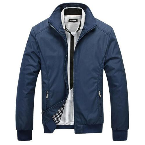 Mens Lightweight Bomber Outfit Tops