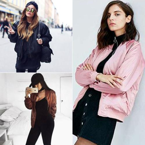 Women Jacket Long Sleeve Outwear Vintage