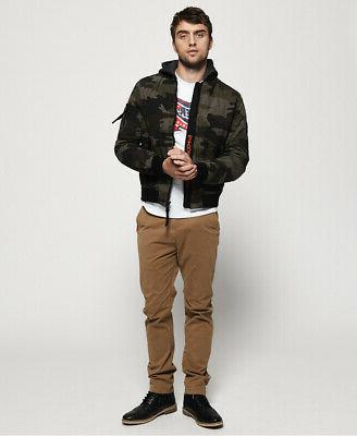 Superdry Mens Corps Bomber Jacket