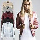 Urban Classics Ladies - SATIN BOMBER Pilot Flieger Jacket