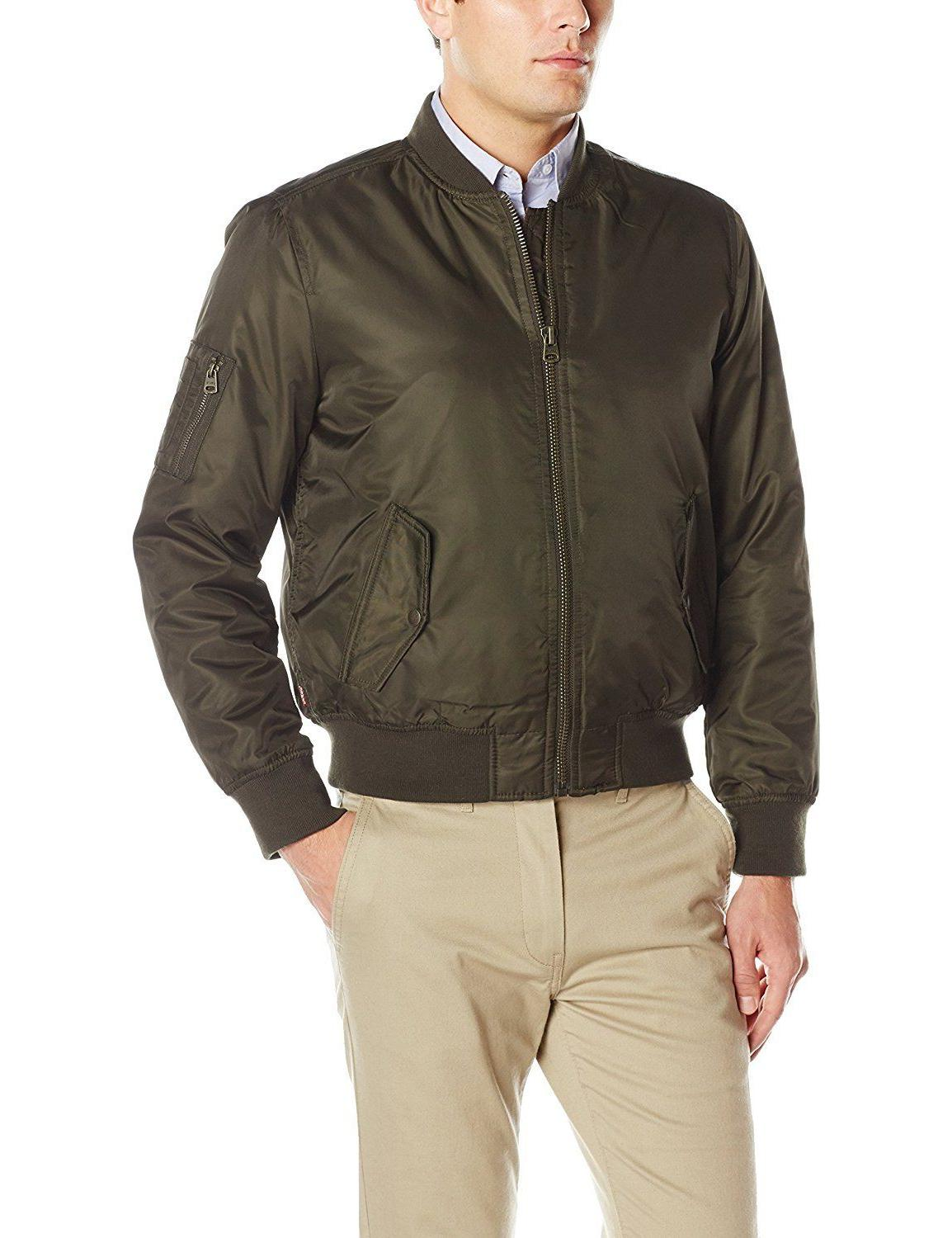 levi s mens olive water and wind