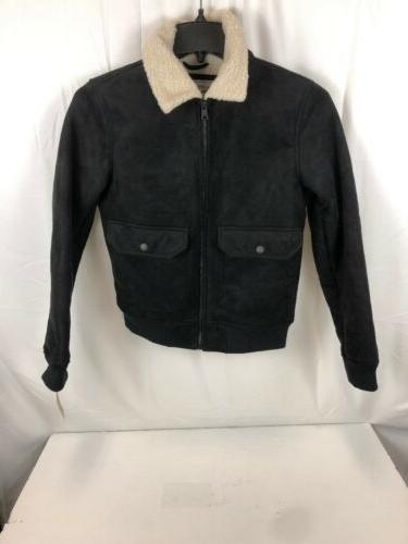 Levi's Leather Sherpa black, Small