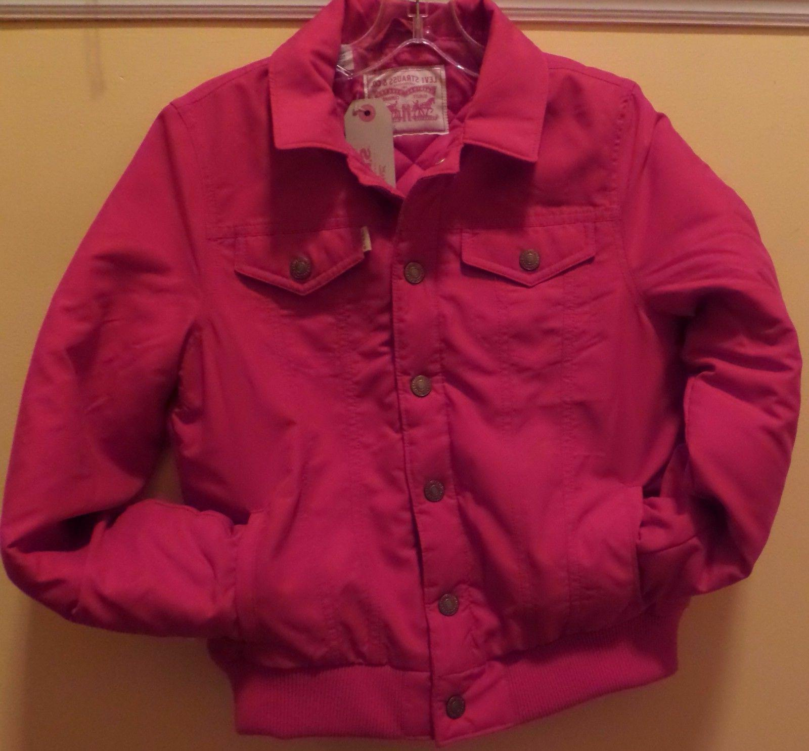 Levi's Women's Puffer Trucker Bomber Jacket/Thermore/ NWT