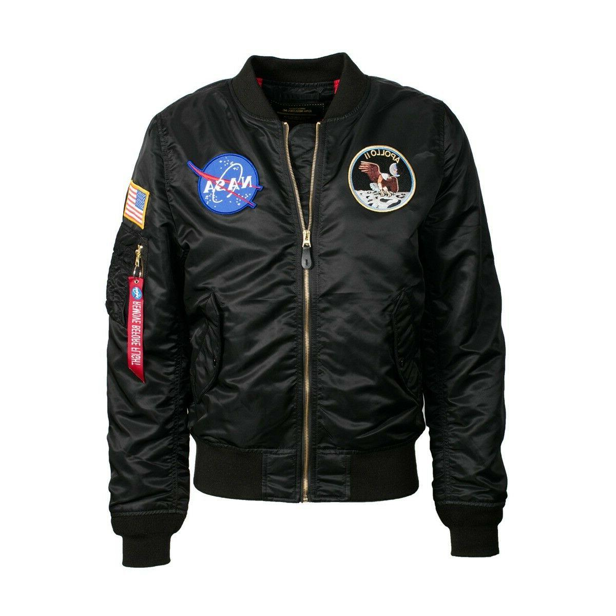 Alpha Industries Lightweight L-2B Apollo Flight Jacket Nylon
