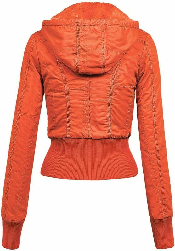Lock Womens Bomber with Hoodie