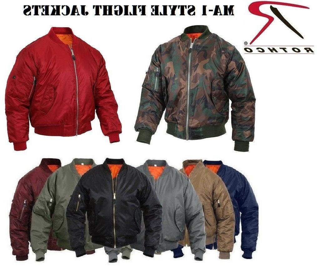 ma 1 bomber jacket flight coat air