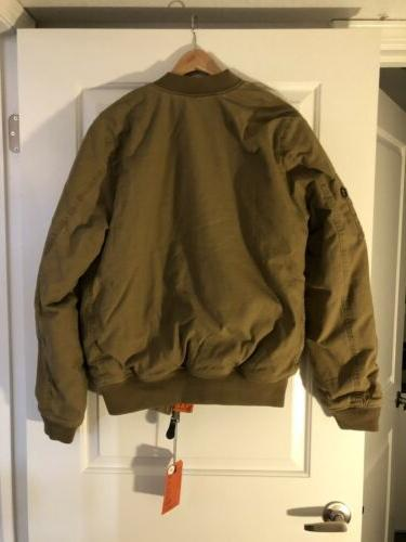 Alpha Industries CTN Bomber/Flight Jacket Size - NEW with
