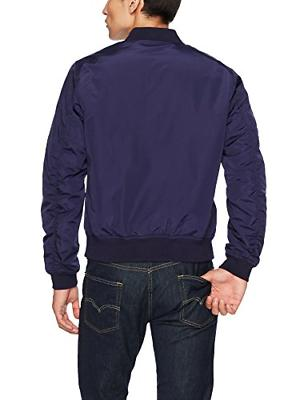 Goodthreads Men's Bomber Navy,